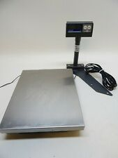 Mettler Toledo 8217 30lb Checkout Scale 0264 Pole Display Stainless Platform