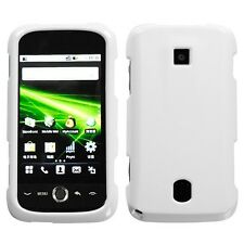 Ivory White Hard Case Snap on Cover Huawei Ascend M860