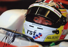 James Calado SIGNED, Force India-Mercedes Test Driver Helmet Portrait 2013