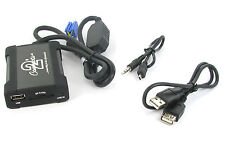 Peugeot 206 307 3008 607 807 406 407SW USB adapter interface CTAPGUSB010 RD3 AUX