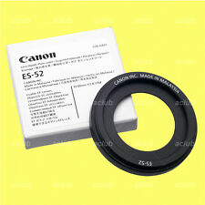 Genuine Canon ES-52 Lens Hood ES52 for EF 40mm f/2.8 STM, EF-S 24mm f/2.8 STM