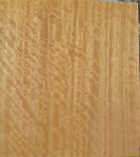 "Australian Figured Eucalyptus wood veneer 6"" x 26"" raw no backing 1/42"" thick"