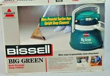 Vintage Bissell Big Green Multi- Purpose Deep Cleaner Machine Model 1672 Manual
