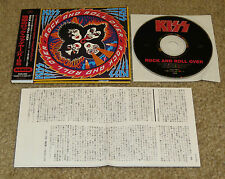 KISS ROCK & ROLL OVER JAPAN CD PHCR 3056