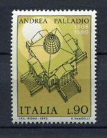 S8003) Italy Republic MNH 1973, Architecture 1v Palladium