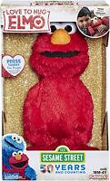 Sesame Street Love to Hug Elmo Talking, Singing, Hugging 14 Plush Kid Toy Gift