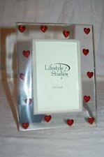 1c53d9efc8 Vintage Lucite Acrylic Picture Frame #Hearts #Rhinestones #Love Cute  #Romantic