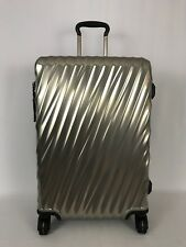 Tumi 19 Degree Short Trip Packing Case Spinner Suitcase Silver Luggage 228664