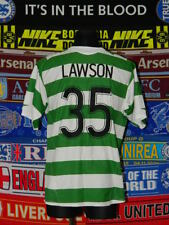 4/5 Celtic adults L 2005 #35 Lawson football shirt jersey trikot soccer