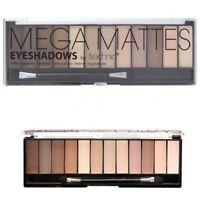 Technic Eyeshadow *Mega Mattes* Nude Palette 12 Shades Naked Natural Eye Shadow