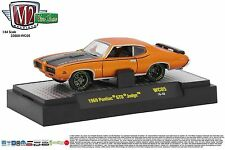 1:64 M2 Machines *WILD CARDS WC05* Orange 1969 Pontiac GTO Judge *NIB*