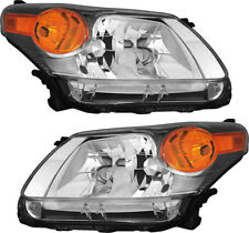 Halogen Headlights Headlamps New Pair Set (Left & Right) for 2013-2014 Scion xD