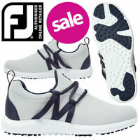 FootJoy FJ Leisure Slip On Women's Golf Shoes Grey/Navy - NEW! *REDUCED!*