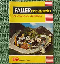 Faller AMS ---  Faller Magazin 69, März 1969