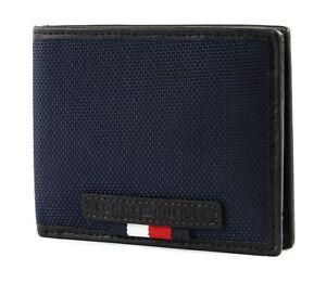 TOMMY HILFIGER Elevated Mini CC Wallet Geldbörse Tommy Navy Blau Neu