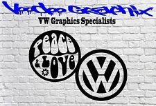 VOLKSWAGEN VW Window Bumper Logo Decal Stickers TRANSPORTER T4 T5 T6 Campervan