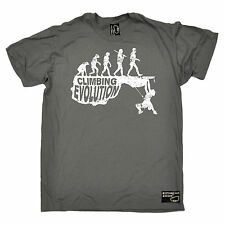 Climbing Evolution MENS Adrenaline Addict T-SHIRT rock climbing birthday top