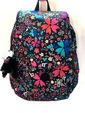 New Kipling Ravier Backpack Mod Floral Print NWT