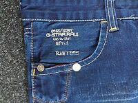 Men's G-STAR raw loose fit style 5620 jeans Size 30W 32L