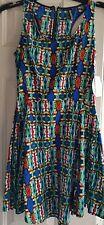 Women's Multi Color Dress  X-Small
