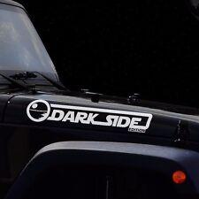 DARK SIDE EDITION JEEP Wrangler CJ TJ YK JK Star Wars Car Vinyl Sticker Decal