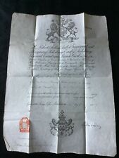 More details for rare victorian 1889 passport signed by marquess of salisbury foreign politics