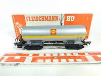 BR55-0,5# Fleischmann H0/DC 5491 Kesselwagen/Güterwagen Shell 581854 DB, OVP
