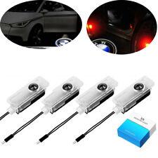 4pcs Vehicle Door Light LED Logo Projector Ghost Shadow Laser Lights Car Lamp Li