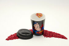 Könitz porcelaine Travel Mug Coffee To Go Mug Superman-texte type 380 ml