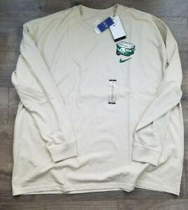 Oregon Ducks -Long-Sleeve T-Shirt-Nike-Beige-XXL