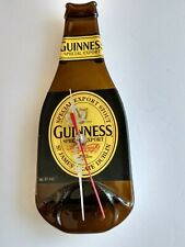 Guinness Beer Bottle Wall Clock