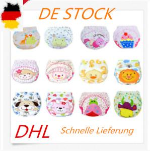 6Pack Wasserdicht Baby Trainerhose Windelhöschen Unterhose Töpfchentraining DHL