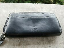 Gianni Bernini Black Genuine Leather Women's Wallet
