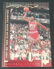 MICHAEL JORDAN 1994 Upper Deck SLAM DUNK CHAMPION #39, GOLD SIGNATURE, SHARP!!!