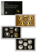 2011 United States US Mint 14-Coin Silver Proof Set (SV4) SKU22746