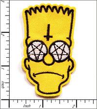 20 Pcs Embroidered Iron/Sew on patches Cartoon Man Bart 4x7cm AP024cC