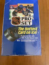 1990 Pro Set NHL Hockey Cards Series 1 New Sealed Blue