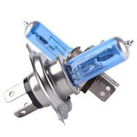 2/4X H7 55W 6000K 12V Gas Xenon Halogen Headlight Light Lamp Bulbs Ultra Whit ii