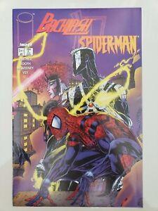 BACKLASH / SPIDER-MAN #1-2 (1996) IMAGE COMICS FULL SERIES BRET BOOTH ART! VENOM