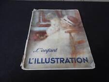 Vintage May 1934 L'enfant L'Illustration French Art Magazine