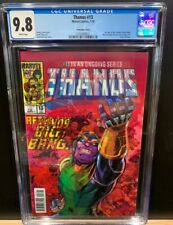 THANOS 13 CGC 9.8 VARIANT FIRST APPEARANCE OF COSMIC GHOST RIDER RARE SOLD OUT