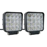 2pcs 48W 12V LED Work Light Flood Beam Bar Car ATV Off-Road Driving Fog Lamps*