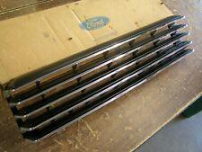 NOS OEM Ford 1979 1980 Mercury Capri Grille Chrome / Black RS
