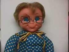 Vintage 1967 Mattel Family Affair Mrs Beasley Doll She Talks Replacement Glasses