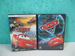 Cars 1 & 2 (DVD, 2006,2011) + Bonus