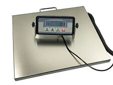 400lb Large Stainless Steel Platform Digital Portable Shipping Scale Bench Floor