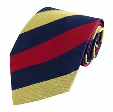 Royal Army Medical Corps Regimental Striped Tie Regiment RAMC