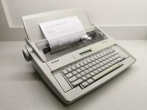 Brother AX-430 Electric Typewriter/Word Processor