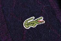 Chemise Lacoste Crew Neck Vintage Jumper Size L / 5