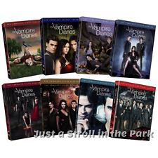 The Vampire Diaries: Complete Series Seasons 1 2 3 4 5 6 7 8 Box/DVD Set(s) NEW!